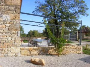 Lou Papagai terrasse+portail