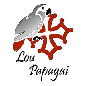 Lou Papagai Logo rond Lou Papagai jpg